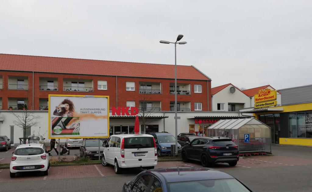 Fachmarktzentrum in Marne, Schleswig-Holstein (Quellenhinweis – Foto: GRR Group)